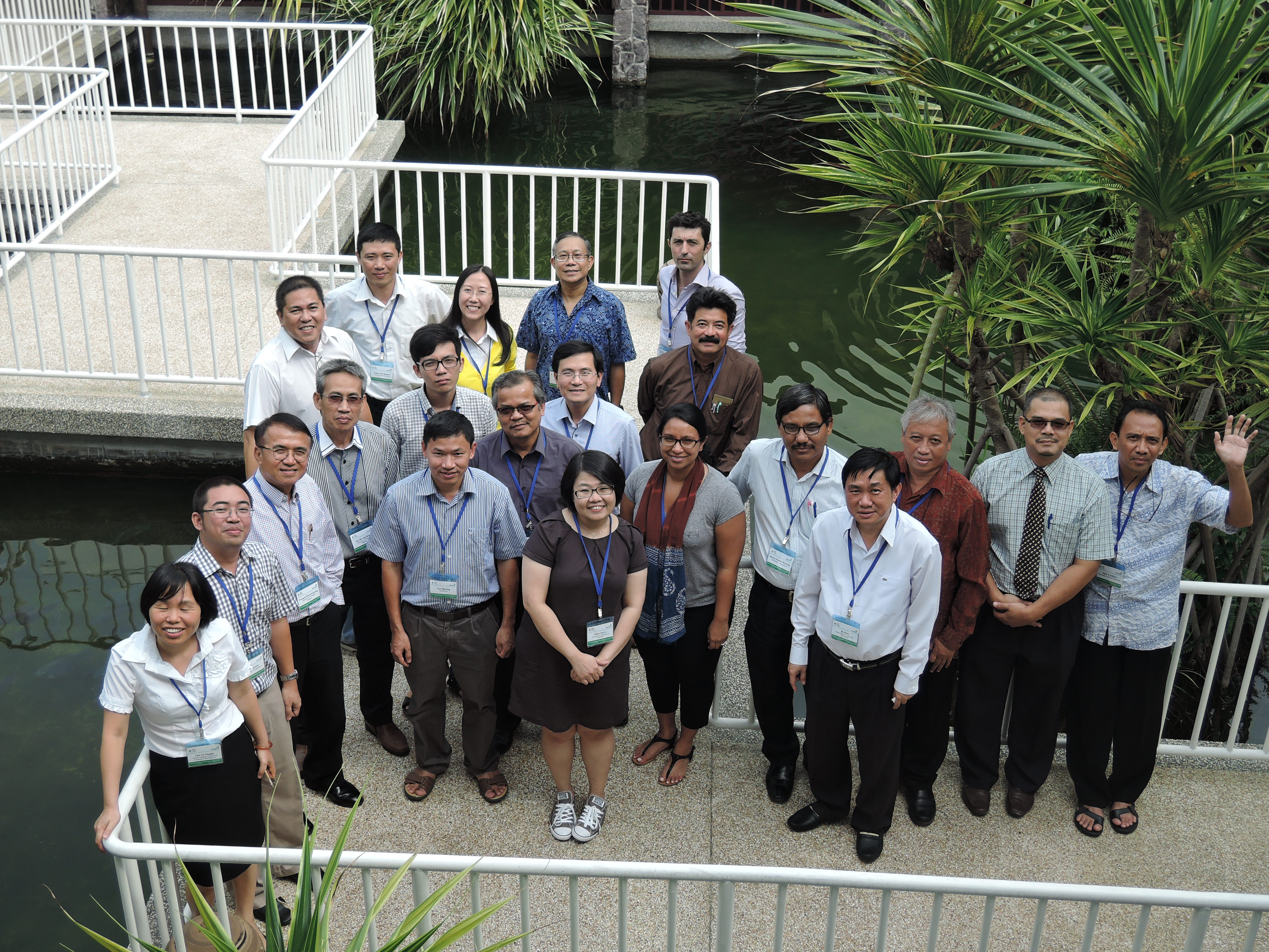 Participants from 7 ASEAN countries in Penang, Malaysia.