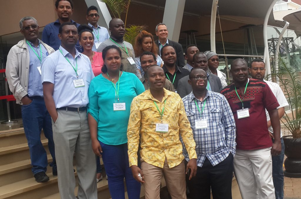 Workshop participants. Photo credit: CIMMYT.